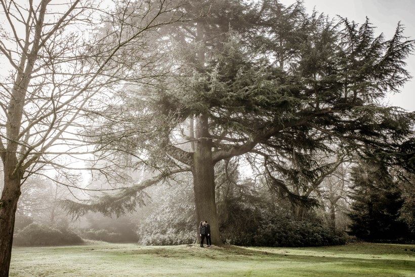 ArtbyClaire Wedding Photography, Engagement Shoot at Shendish Manor