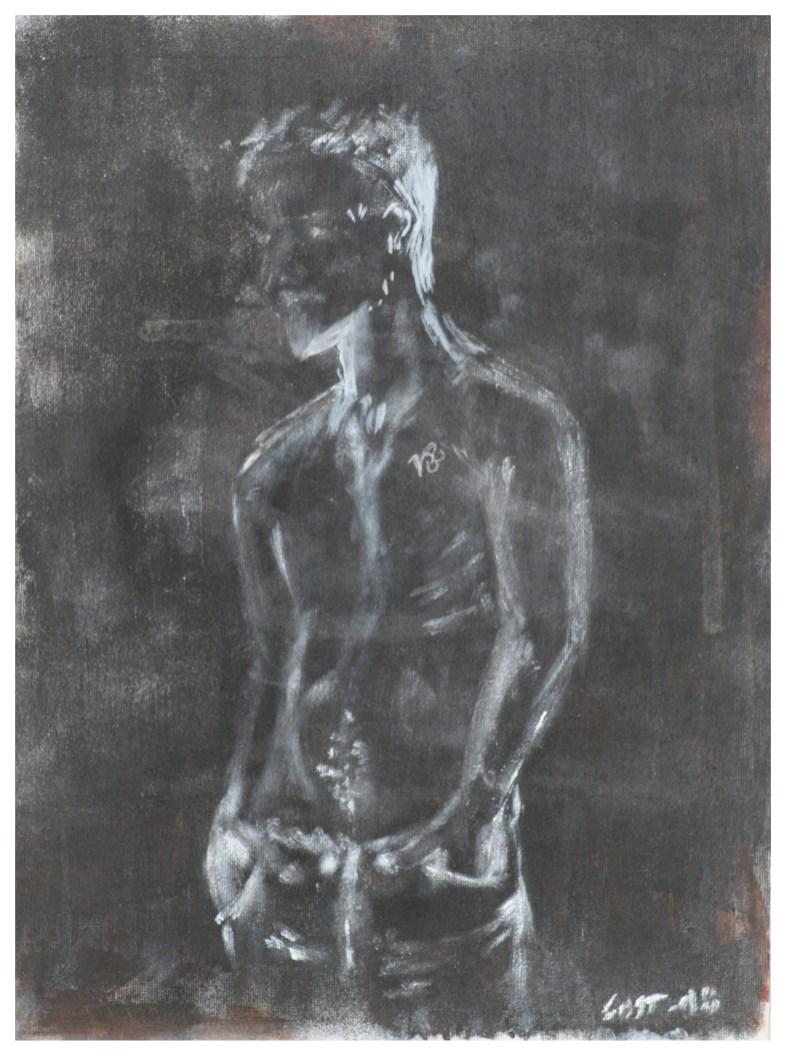 Acrylic Panel 22x30 cm. He. Private