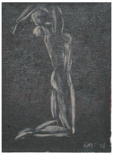 Acrylic Panel 22x30 cm - She I