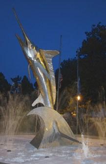 Marlin Fountain, Ocean City, MD
