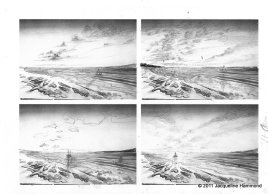 Seascape sketches (2)