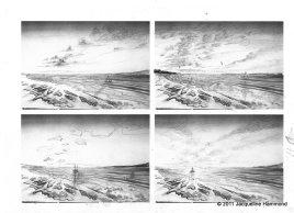 Seascape sketches (2)