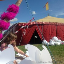 Smarty Lamps Backstage Cabaret Glastonbury Festival