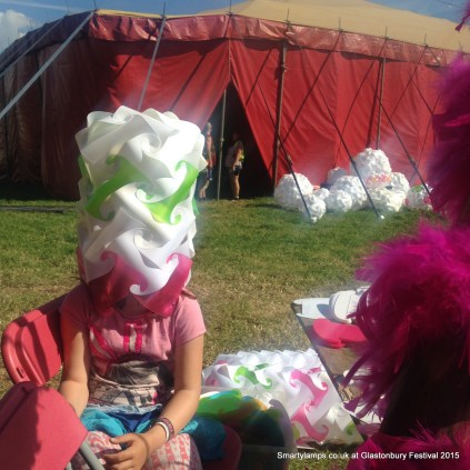 Smarty Lamps at Glastonbury Festival T&C 2015