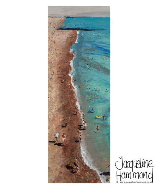 Life's Beach by Jacqueline Hammond