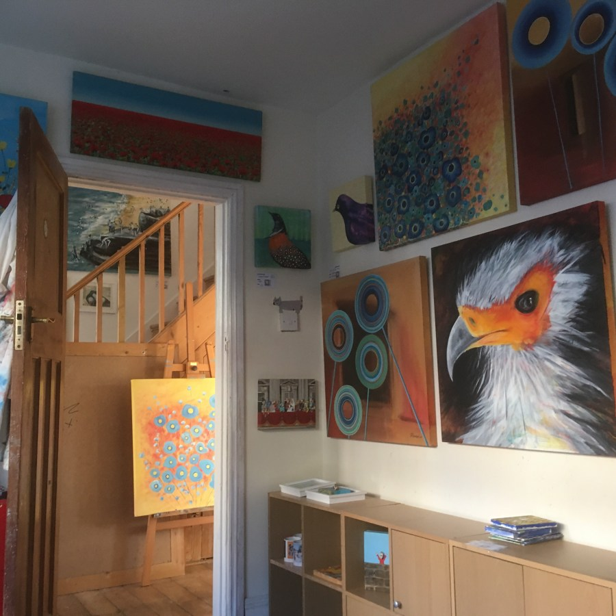Exhibition of paintings by Jacqueline Hammond Open Houses Kemptown Trail Brighton Festival