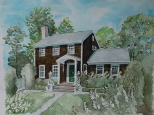Hampton House Painting