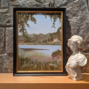 View at Harkness Memorial State Park, Plein Air