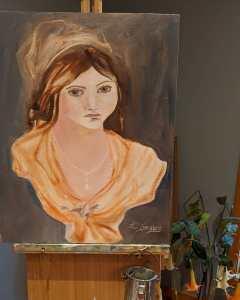 Sculpture portrait
