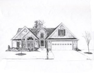 drawing drawings cool dream sketch building houses architectural 3d simple interior housing drafting sketching architecture plans pool discover