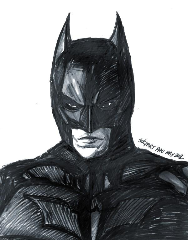 Batman Dark Knight Drawings