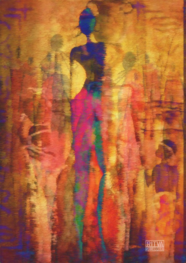 African American Colorful Art