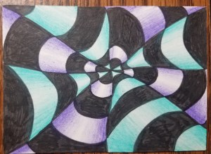 How-to-Draw-Op-Art-Bullseye-Color-Finished-Cool-Colors