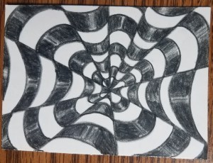 How-to-Draw-Op-Art-Bullseye-Color-Finished