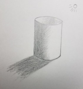 How-to-Draw-a-Cylinder-Cast-Shadow