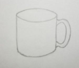 How-to-Draw-a-Mug-Step-2