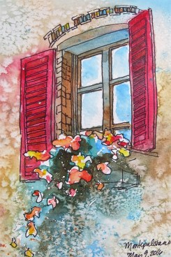 Window Box Painting