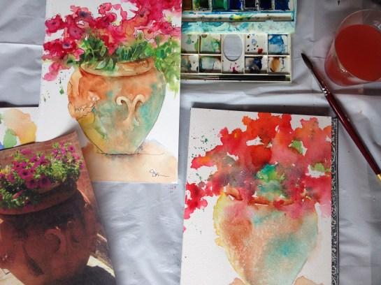 Flower Pot Lesson