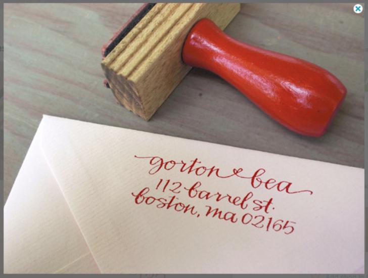 Labels For Wedding Invites