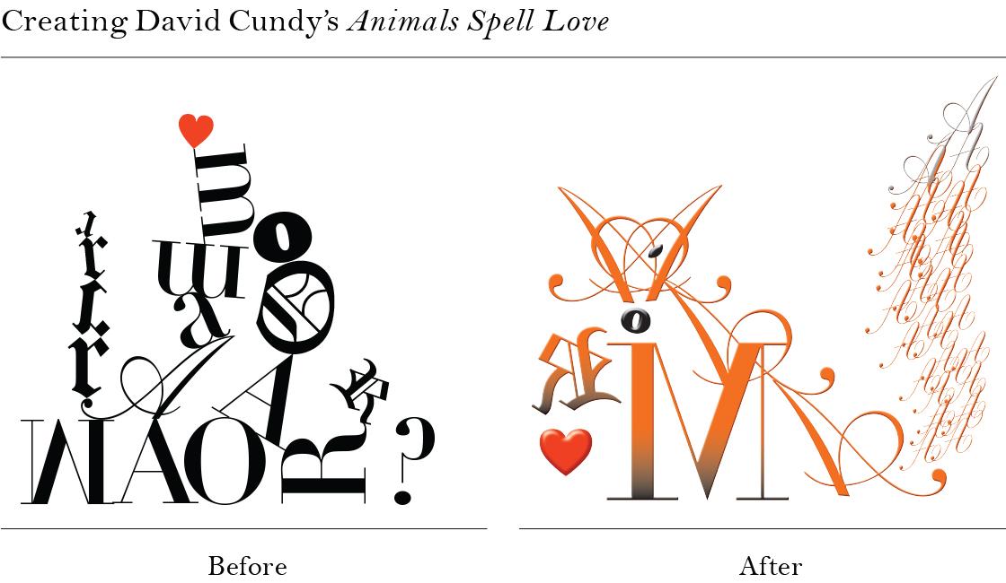 animals spell love for