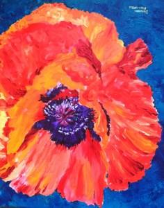 Dorothy Modafferi- Garden Poppy