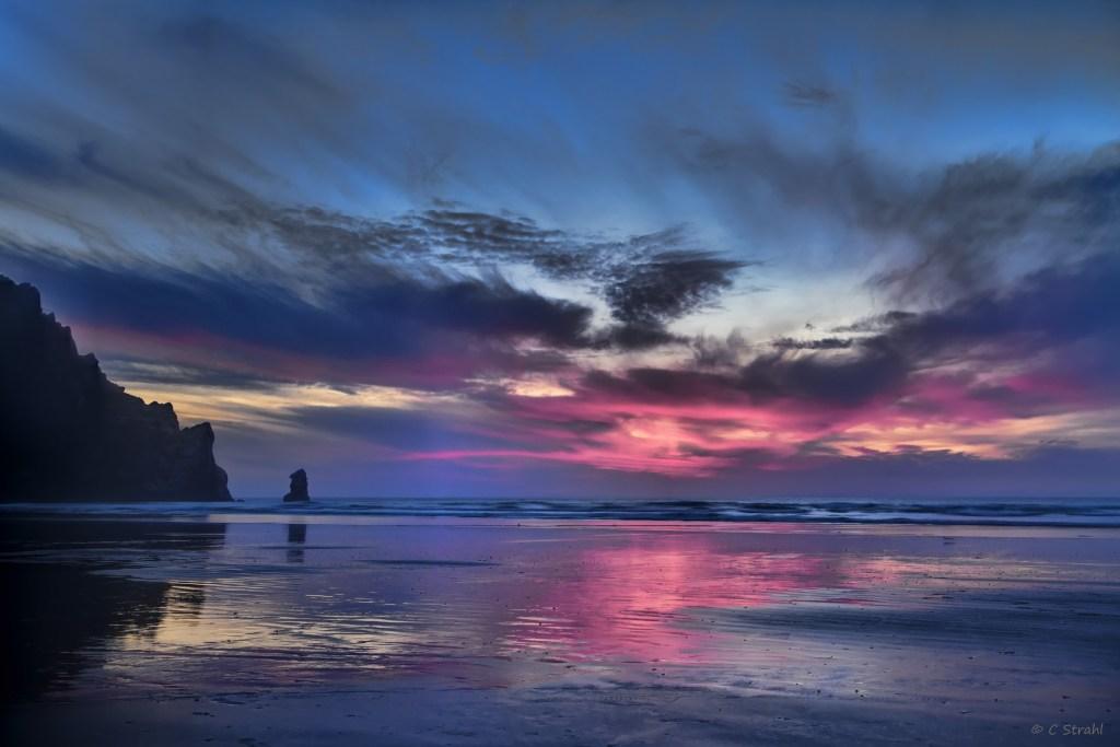 """Cheryl Strahl """"Morro Bay Sunset"""""""