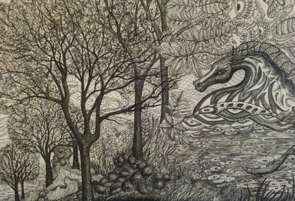 alicia-lee-black-and-white-day-dream-pitt-pens