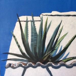 Mary McCrea - Casa Salvador Dali - Acrylic