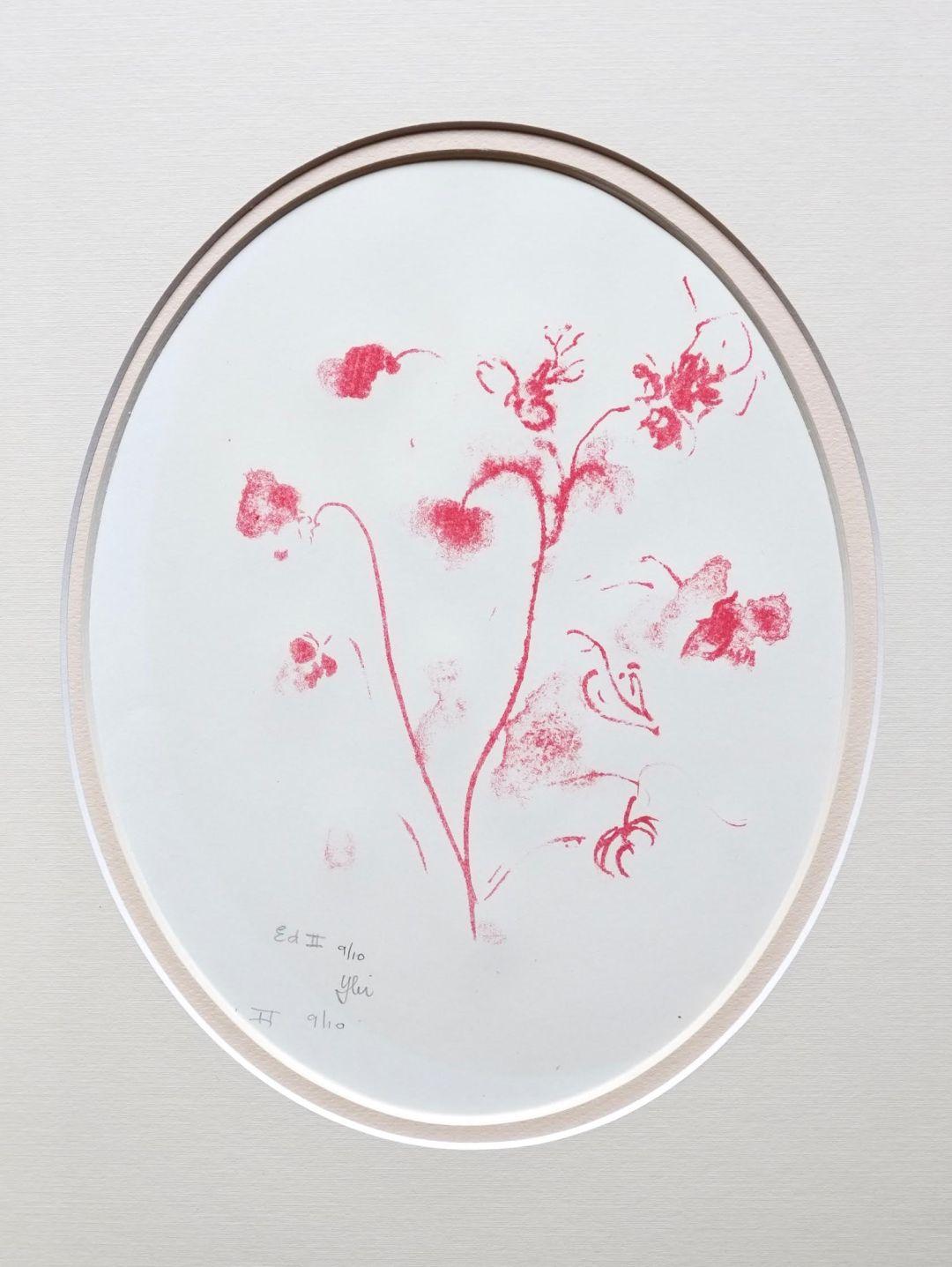 Ybi Van Ekeren - Flowers in Red