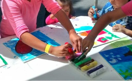 Kids Art Supplies and Play Date