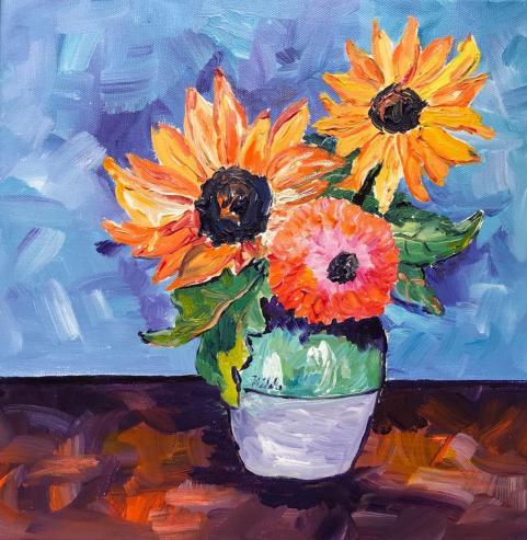 Hilda Vandergriff Sunflowers