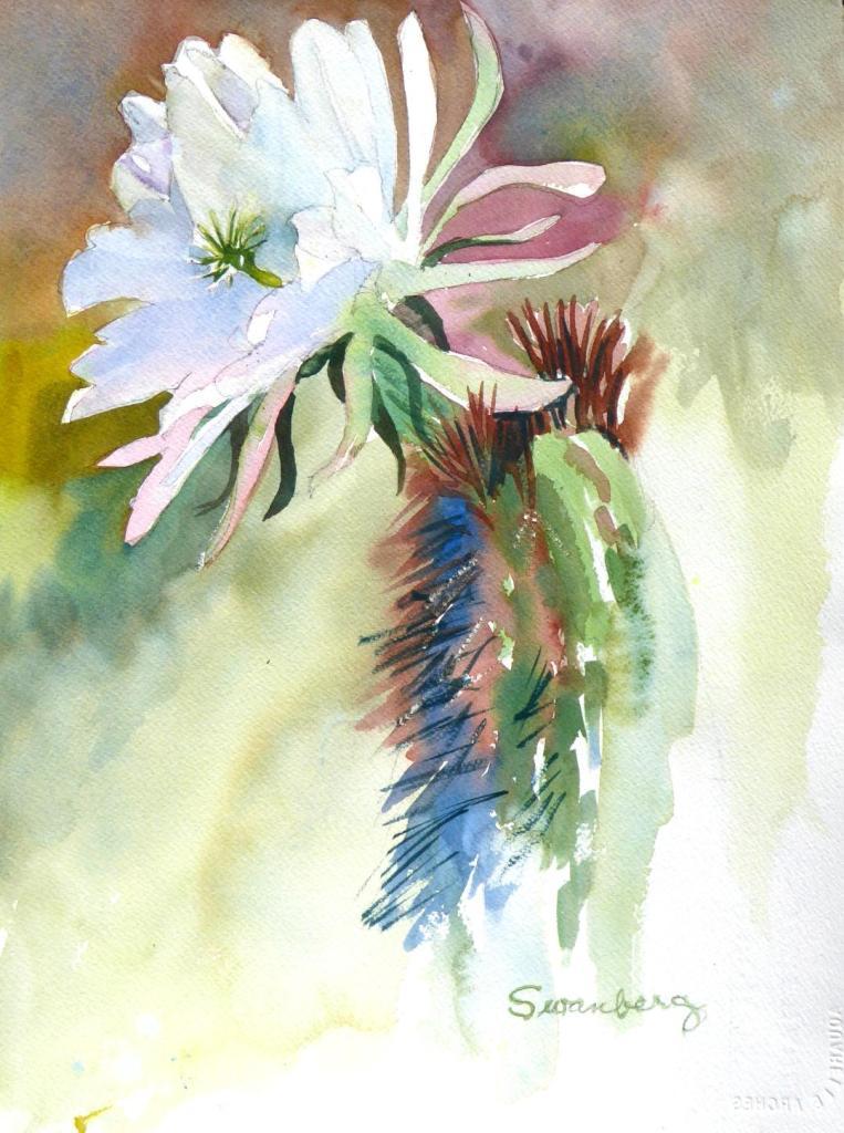 "Ardella Swanberg ""Cactus Flower"""