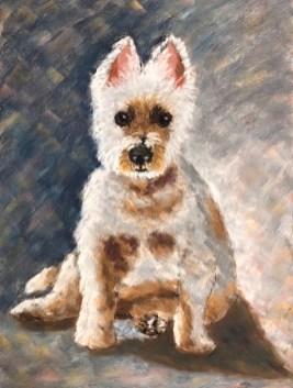 "Ji Li - ""Dog Portrait"""
