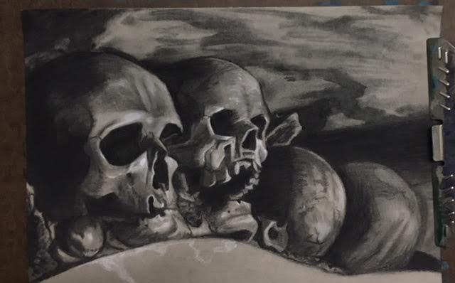 "Tanya Wiater - ""Skulls"""