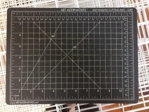 9x12 cut mat $5