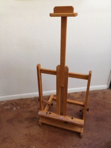 Round 2 - table top easel pic 2 $120