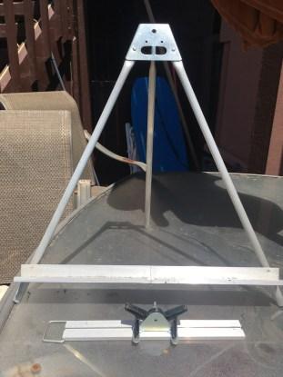 aluminum table easel terri