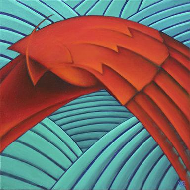 """Bill Eckart """"Red Bird"""""""