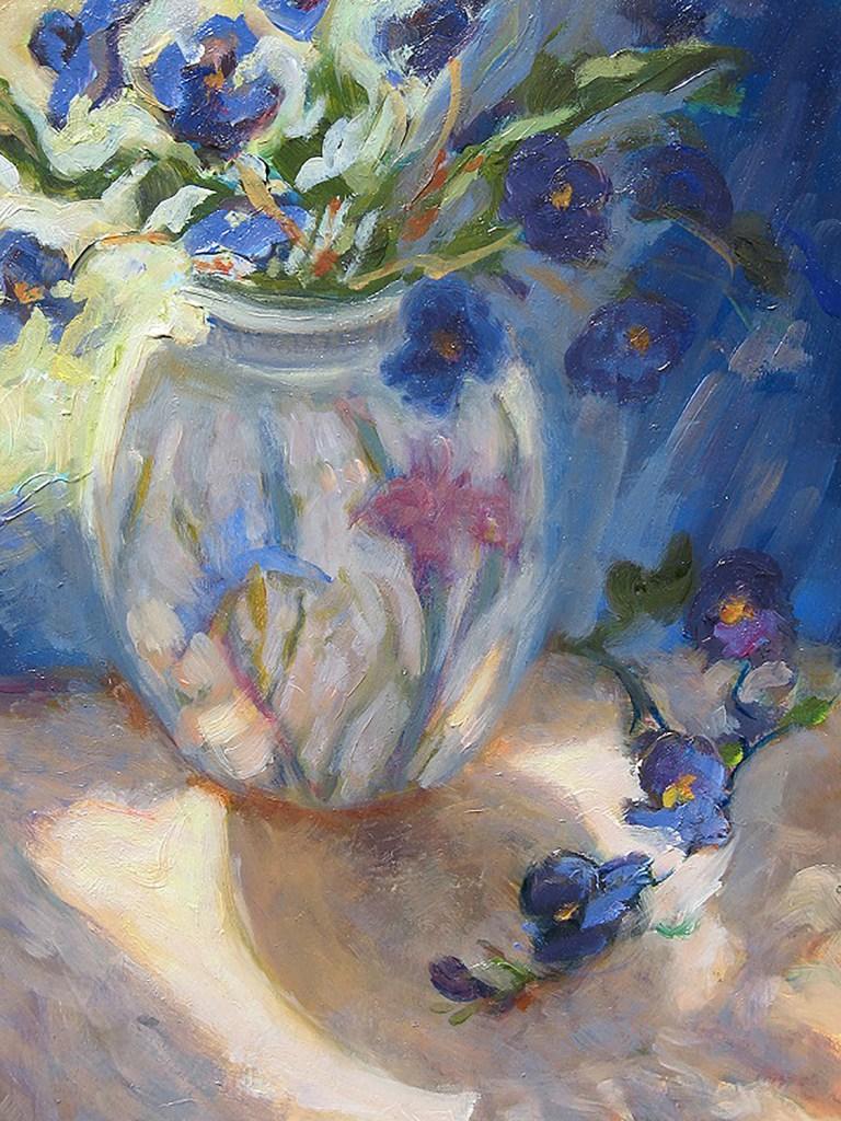"Jan Swarbrick ""Violets In The Sun"""