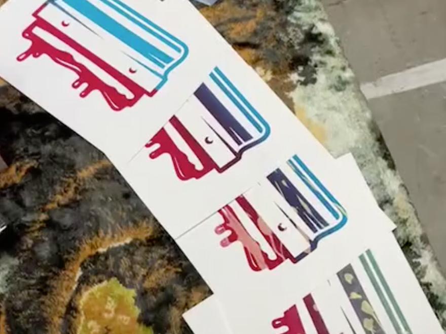 Alden Knight - Speedball Screen Printing Demo