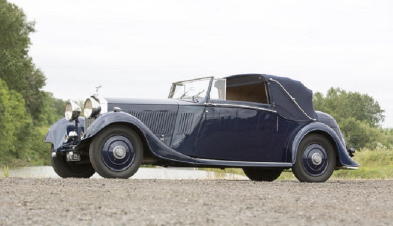 Image: 1935 Rolls-Royce 20/25hp Foursome Drophead Coupe with a  Coachwork by Thrupp & Maberly made great auction price at the auction