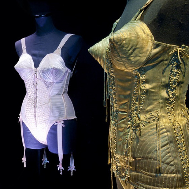 Image: Jean Paul Gaultier will feature this interesting fashion design at the exhibition titled The Fashion World of Jean Paul Gaultier: From the Sidewalk to the Catwalk