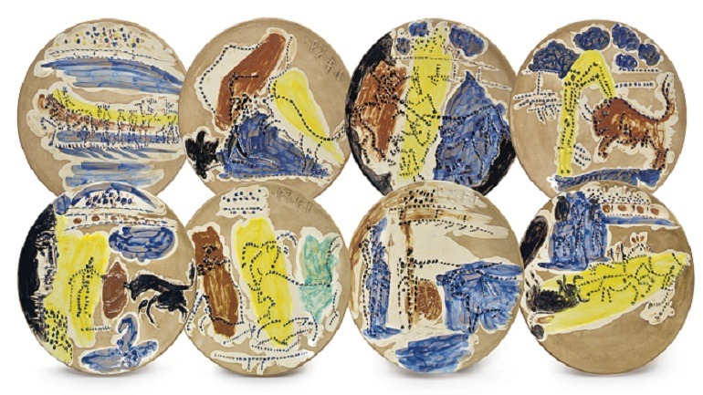 Picasso's Ceramics Auction Exceeds $1 Million at Christie's