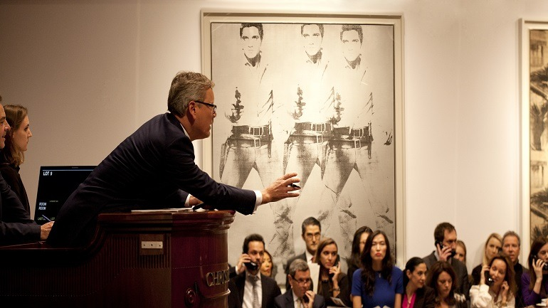 Christie's Begins 2015 Celebrating 2014 Record Art Auction Result