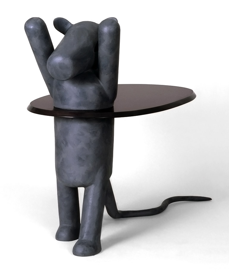 Image: Sculpture titled Hula Hoop by Roland Faesser is in the Collection of Hauser & Wirth- Faesser's Sculpture