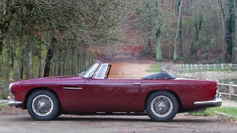 Image: 1962 Aston Martin DB4 Convertible made good impression at Bonhams Grand Palais sale in Paris