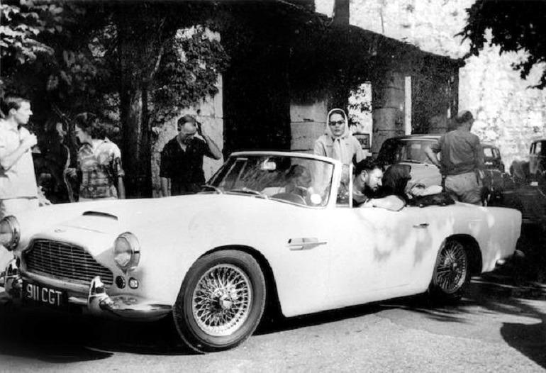 Image: 1962 Aston Martin DB4 Series IV Vantage Convertible