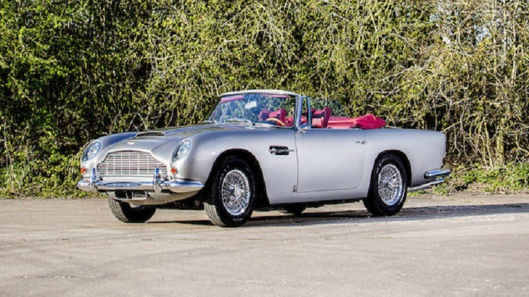 Aston Martin DB5 Convertible Makes Record Price at Auction