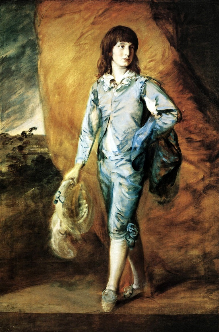 Image: Thomas Gainsborough, The Blue Page Circa 1770, from the Alfred Taubman art collection to be sold by Sotheby's