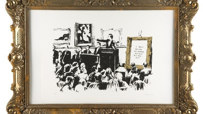Street Art Brings Julien's Auctions and Artsy Together